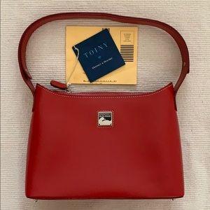 NWT Dooney & Bourke Toiny Top Zip Crescent Bag